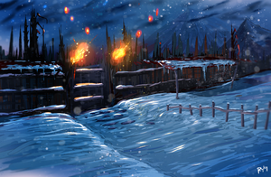 Winter Fortress by ryky