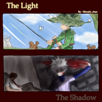 HxH: Light and Shadow by oOShinahiOo
