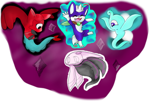 Tiny Ones by MeowsScourgeARTZ152