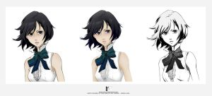 Naoto Fuyumine in different styles by Kotik-Stells