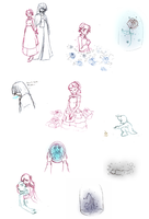 Sketchdump-Hanana and Beast? by Lady-Moth