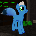 Mysterious Comet _ profile 20130506 by IndigoMystiere