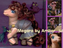 my little pony custom Megara by AmbarJulieta