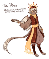 The Prince Concept Sketch by Hauket