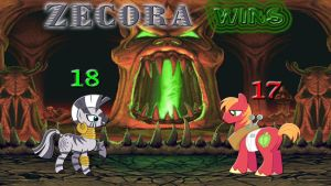 Pony Kombat Tournament Round 1, Battle 11 (Result) by Macgrubor