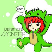 Hayley Williams-Monster by Animecolourful