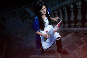 Alice Madness Return Cosplay 2 by vividplus