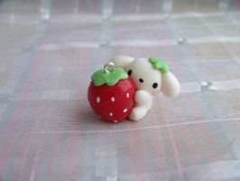 Berry puppy giant strawberry by CuteTanpopo