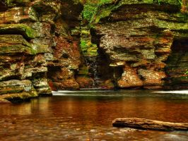 Ricketts Glen State Park 106 by Dracoart-Stock