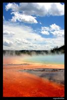 Grand Prismatic Spring by sogoodinblue