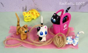 As of Meow kitty basket by kaikaku