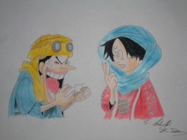 Funny moments, the imitation of Sanji by ModelingElf