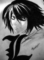 Death note- L Lawliet by LilMissNinja13