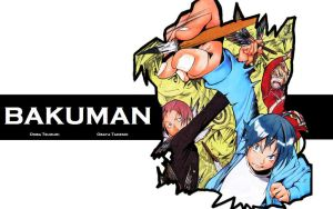 Bakuman - Wallpaper 2 by NikeW