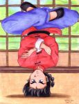 Upsidedown Ranma - NEW BG by irishgirl982