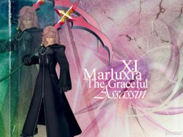 Marluxia The Graceful Assassin by jwitham89