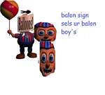 Balloon Sign Sells Your Balloon Boys. by VaughnJustice