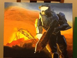 Master Chief: In Progress 5 by SPARTAN-WOLF
