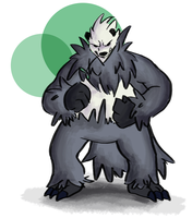 Day2 Pangoro by HenryJDoe
