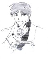ROY MUSTANG DRAW by PETE-EDWARD