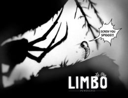 SCREW YOU SPIDOS!!! -Pewdiepie plays LIMBO- by Spencer-Bowen