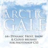 Arctic Gale Dynamic Brushes by suztv