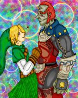 Link and Ganondorf by Spinkels