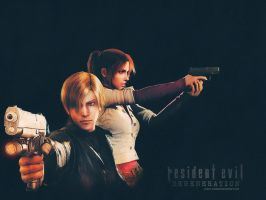 RE Degeneration wallpaper by Claire-Wesker1