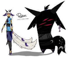 Dython the Mabisa Shadowmonster by Windup-Ghost