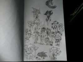 Character Collage by CranicTH