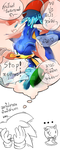 What Sonic's thinking about Songkran Day by Baitong9194