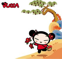 Pucca goes around by kleines-wollschaf