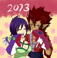 Cobra and Kinana (Fairy Tail) by CobraxKinana