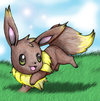 Event Eevee by Pokemon-Mento