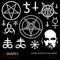 Satanic Shapes by Bloody-Goodbyes