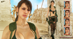 Metal Gear Solid V: The Phantom Pain Quiet Updated by IIReII