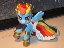 Rainbow Dash Gala custom 1 by maddynamite