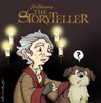 the storyteller by katiecandraw