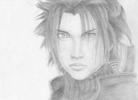 Fina Fantasy Crisis Core- Zack by Amethyst-Crown