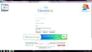 Who knew cleverbot can be such a pwn'er by sitaliar