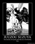 Tokyo Ghoul Re: Juuzou Demotivational by n-trace