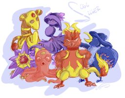 Soul Silver Team by Speedvore