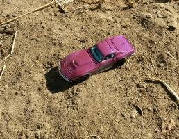 Corvette (year 1969) from Hot Wheels off-road by Wael-sa