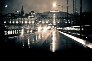 Stockholm street by nickehcp
