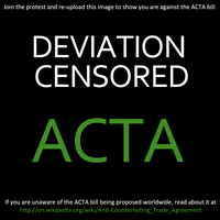 Stop ACTA by Patchheart