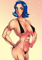 Trish Young by Odie1049