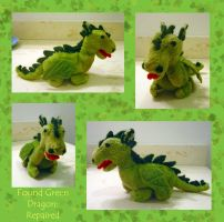Found Green Dragon, repaired by Dragonrose36