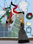 Creature Feature Christmas Special 2013 Page 1 by M-Ziliak