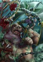 DOTA: Mortred First Blood by r-chie