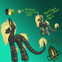 Tribal Night Ref. Sheet by Void-Adoptables